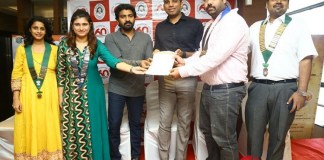 Actor Vaibhav Reddy launches Dindigul Thalapakatti Clean Plate Challenge
