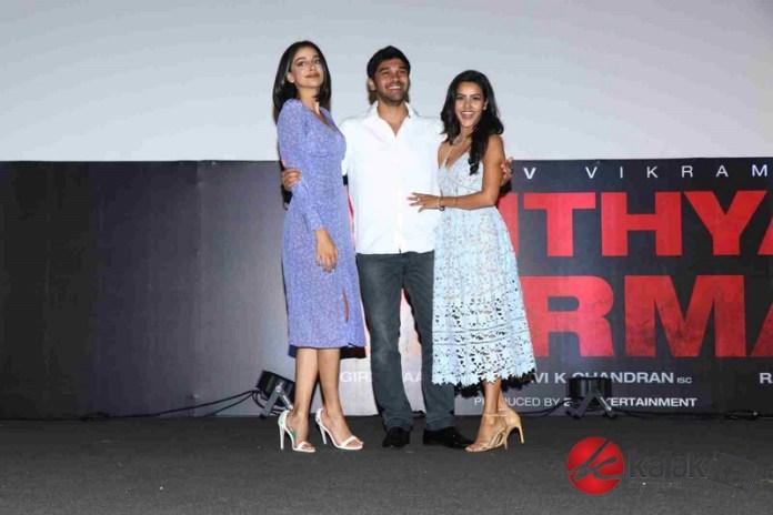 Adithya Varma Movie Audio Launch Stills