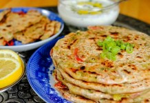 Onion Stuffed Chapathi : South Indian Recipe, Easy Rice Recipe, Veg Recipes of India, Quick And Easy Recipes, Indian Recipes, Easy Recipe