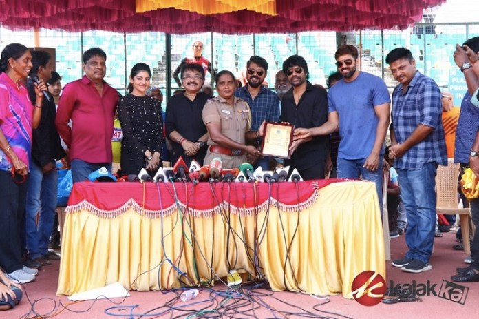 Chennai District Masters Athletic Meet Event Stills