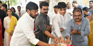 Megastar Chiranjeevi New Film Launch
