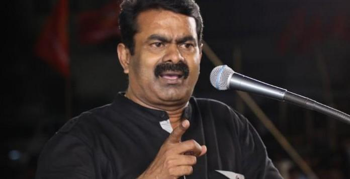 Seeman booked under 2 sections for controversy