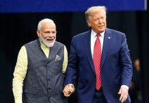 PM Narendra Modi and Donald Trump followers