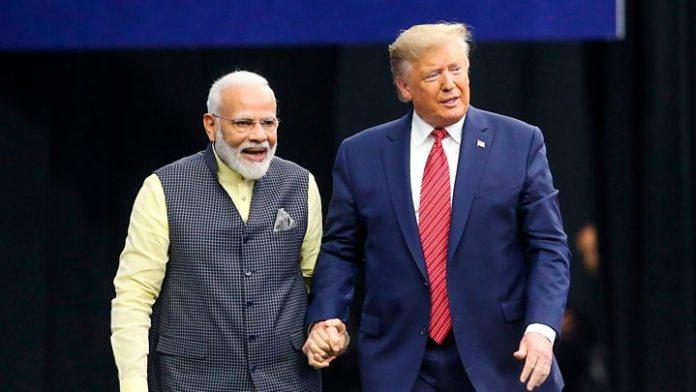 PM Narendra Modi and Donald Trump followers