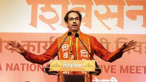 Shiv Sena party warns