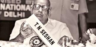 Former Election Commisioner Mr #TNSeshan no more