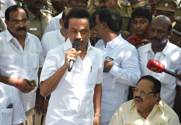DMK urgent case regarding local government polls