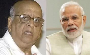 PM Modi condoles the death of Former Chief Election Commissioner Tn Seshan
