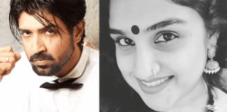 Vanitha Birthday Wishes to Arun Vijay