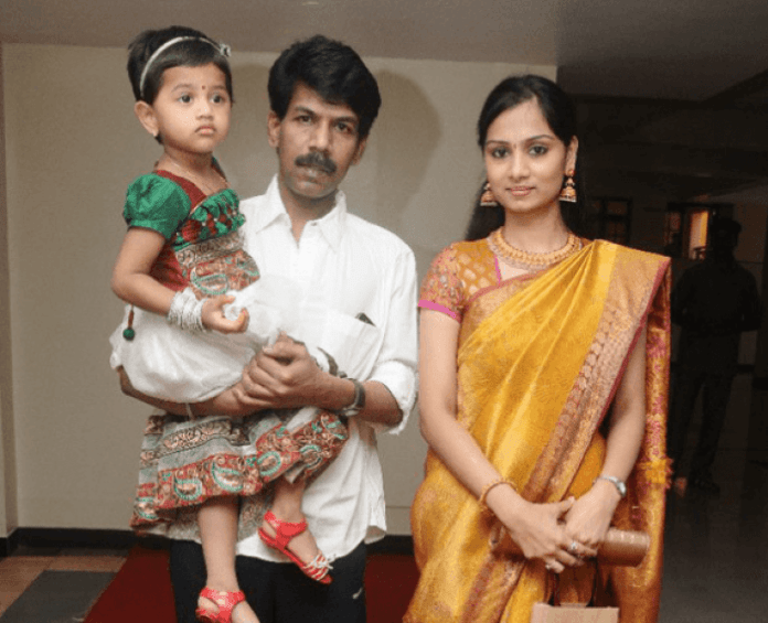 Bala With Daughter and Wife