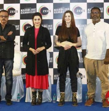 Zee5 Premieres Originalseries Karoline Kamakshi Press Meet Stills