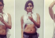 Actress Samyuktha Hegde Workout Photos