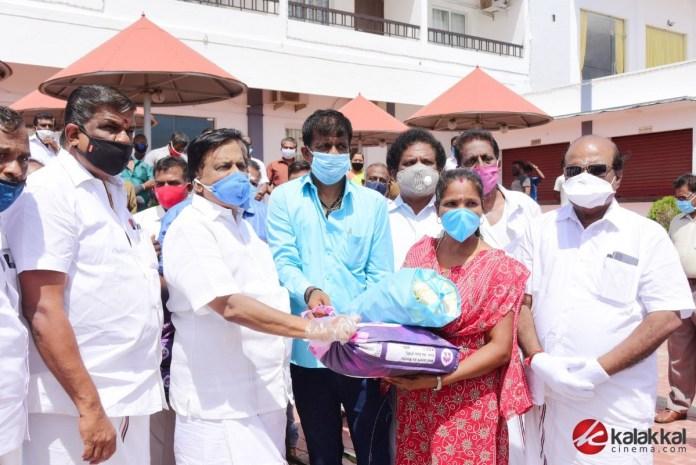 PT Selvakumar Helps to Peoples