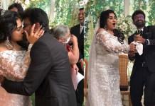 Vanitha Vijayakumar and Peter Paul Marriage Photos