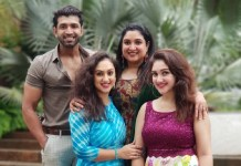 Arun Vijay Sister Daughter Photos