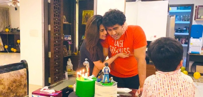 Soundarya Rajinikanth Celebrates Husband Birthday