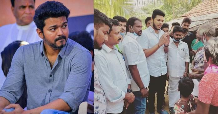 Vijay Fans Club Help to Jayapriya Family