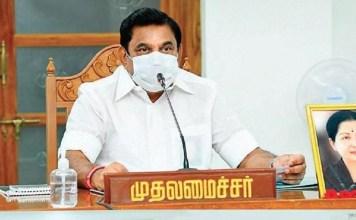 Corona Status in Chennai