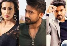 Meera Mitun Complain of Suriya and Vijay