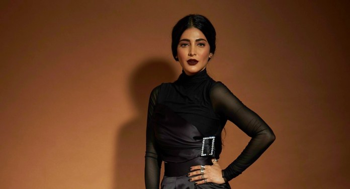 Shruti Haasan in Edge Song Record