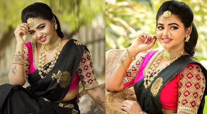 Beautiful Actress Shalu Shamu Bridal Photoshoot Stills