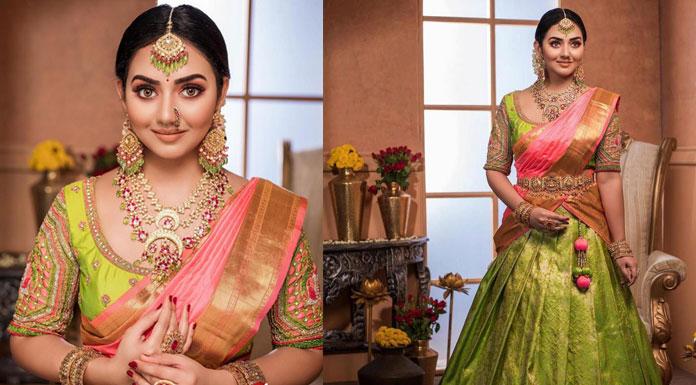 Actress Vidya Pradeep Latest Photoshoot Stills