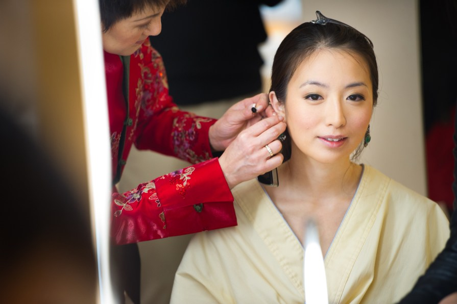 Kalamakeup wedding makeup and hair styling for Karen at Upper House