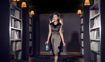 Advertising shoot for Fiji Water