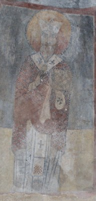 St. Cyprian Icon in Maad Lebanon