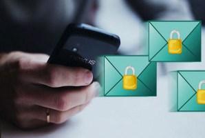 تطبيق CryptMax للاندرويد لإرسال رسالة أو بريد الكترونى مشفر .