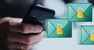 تطبيق CryptMax للاندرويد لإرسال بريد الكترونى مشفر .