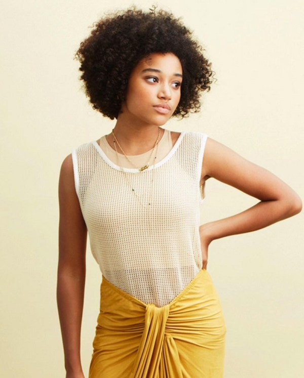 Interview Amandla Stenberg Learned Love Blackness Neo-griot