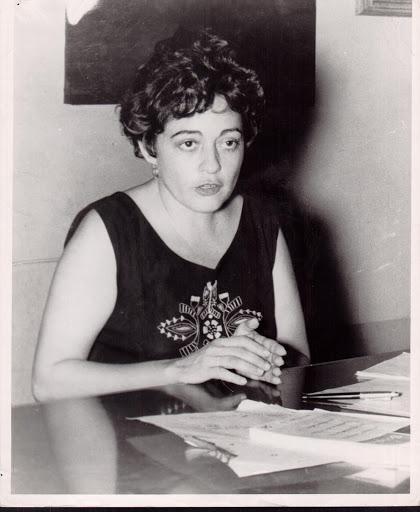 Ana Livia Cordero (Courtesy of the Schlesinger Library, Radcliffe Institute, Harvard University).