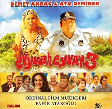 Eyyvah Eyvah 3 Orijinal Film Müzikleri Albümü  Çıktı!