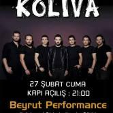 Koliva 27 Şubat'ta Beyrut Performance'da!
