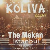 Koliva The Mekan'da sahne alıyor
