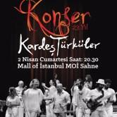 Kardeş Türküler Konseri MOİ Sahne'de