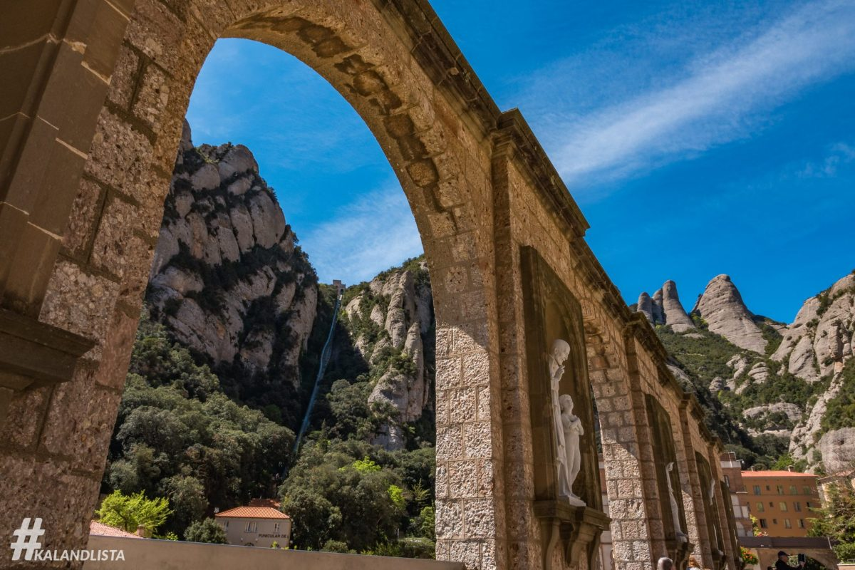 Montserrat, egy kirándulás Barcelonából
