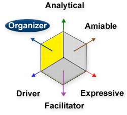 Organizer, Analytical, Amiable, Driver, Expressive, Facilitator