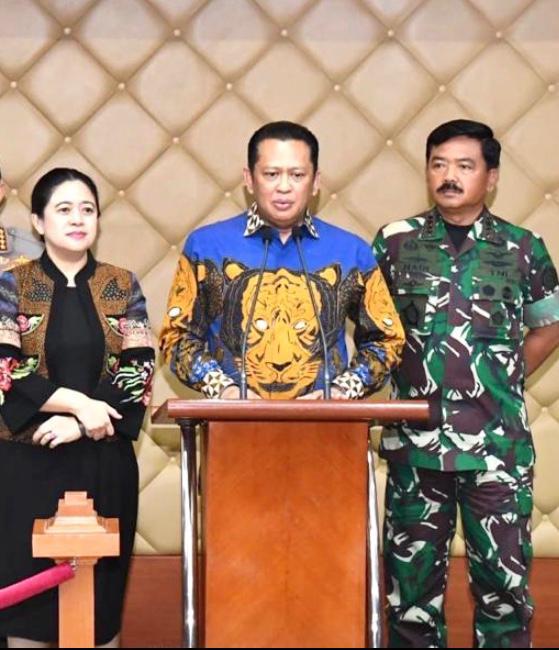 Ketua MPR RI Bambang Soesatyo mengajak masyarakat menyaksikan konser virtual