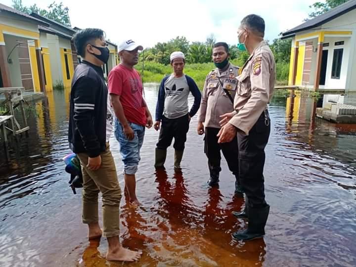 Banjir Selama 2 Hari, Pemuda Desa Sungai Malaya Minta Normalisasi Pengairan