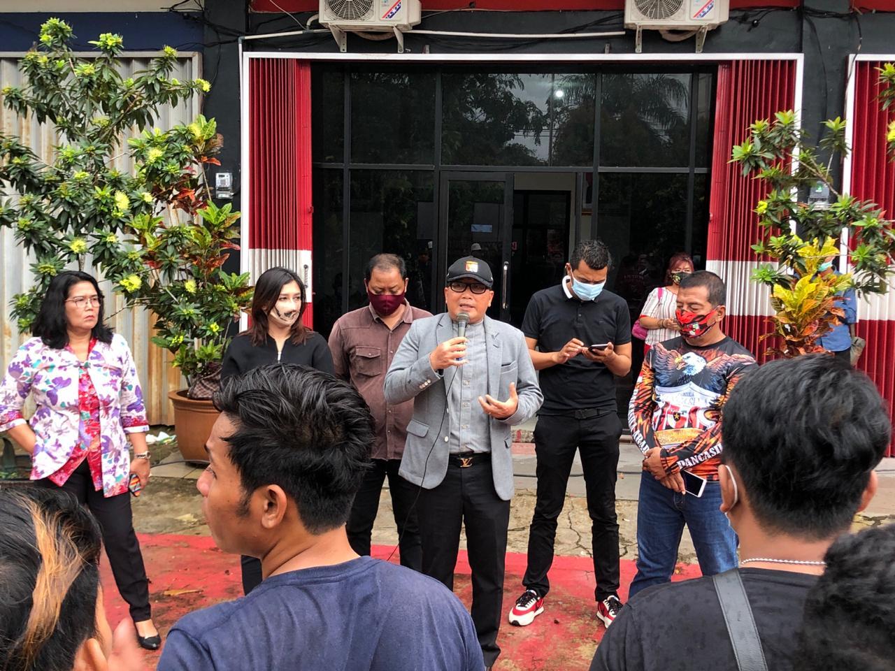 DPD PDI Perjuangan Kalbar Bentuk Satgas dan Komunitas Juang