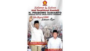 Yuliansyan Gerindra Kalbar Prabowo Subianto