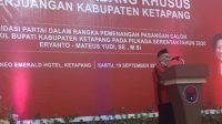 Konsolidasi Pemenangan Pilkada, DPC PDI Perjuangan Ketapang Gelar Rakercabsus
