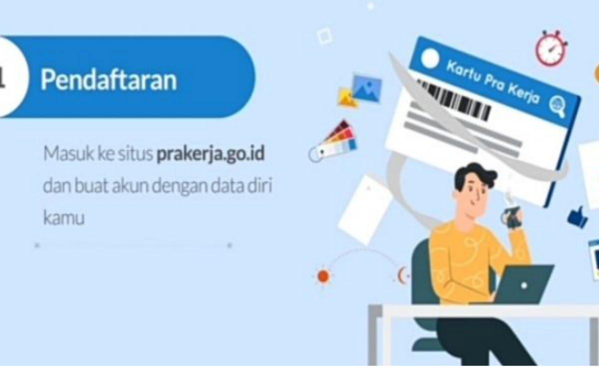 Situs Kartu Prakerja Gelombang 12 Sudah dibuka, Segera Daftar Akun, login ke www.prakerja.go.id