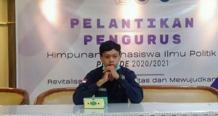Aldi Mayung Sera (Kabid Penelitian dan Pengembangan Isu Politik Himapol Untan)/Penulis