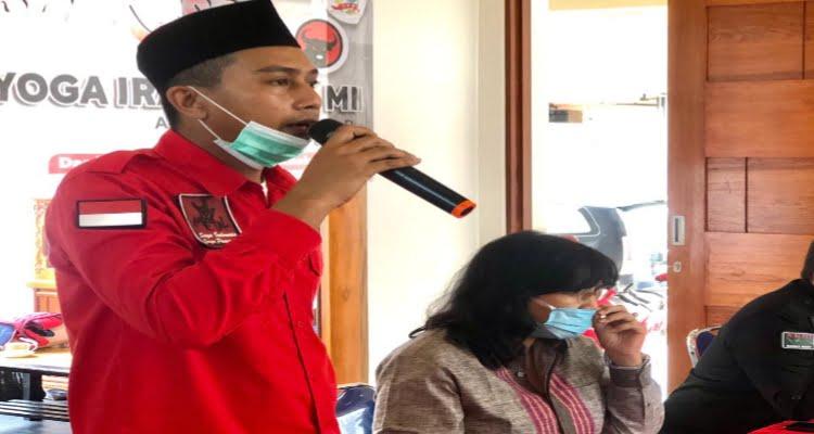 Anggota Dewan Perwakilan Rakyat (DPRD) dari Fraksi PDI Perjuangan, dapil 6 Kabupaten Kubu Raya, Yoga Irawan SE, MM menggelar reses atau komunikasi dua arah antara legislatif dengan konstituen, Senin 8 Februari 2021.