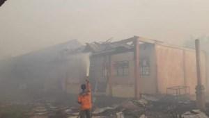 Karhutla makan Korban, 4 Ruangan SMKN 1 Sungai Raya Terbakar