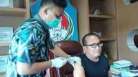 Wabup Sujiwo Terima Suntikan Vaksin Covid-19 Dosis Kedua