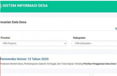 Cek Online Penerima BLT Dana Desa Rp 300 Ribu: Login sid.kemendesa.go.id, Cair Mei 2021